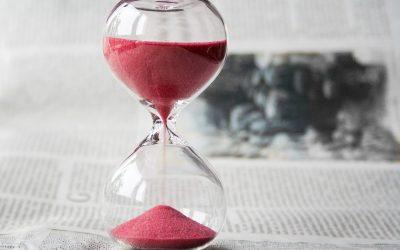 32. Din tid løber